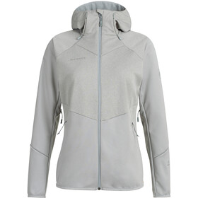 Mammut Ultimate VI SO Hooded Jacket Women, granit/granit melange